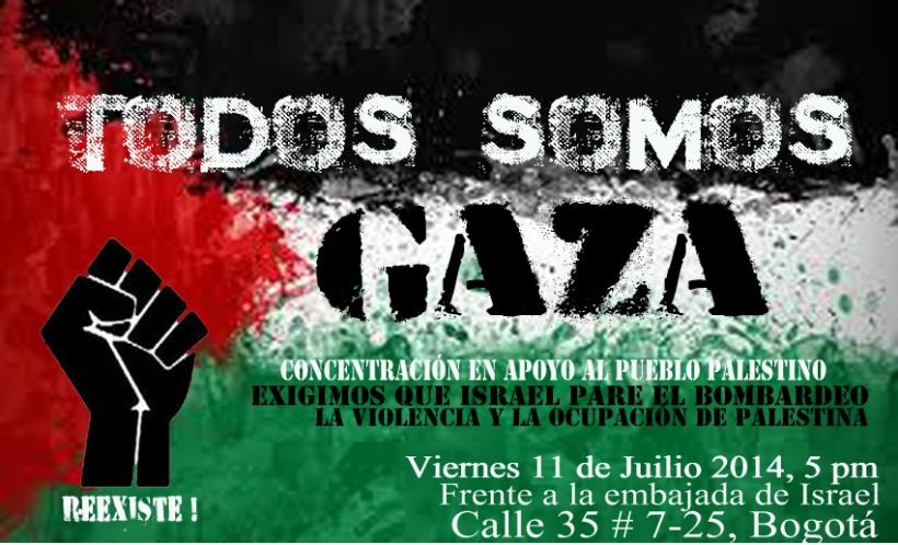 palestina concentración